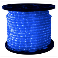 American Lighting ULRL-LED-BL-150 Flexbrite Blue 1800 inch Rope Light Reel