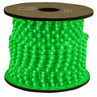American Lighting ULRL-LED-GR-150 Flexbrite Green 1800 inch Rope Light Reel