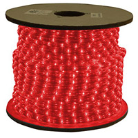 American Lighting ULRL-LED-RE-150 Flexbrite Red 1800 inch Rope Light Reel
