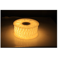 Flexbrite Clear Warm White 3000K 1800 inch Rope Light Reel