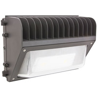 American Lighting WP-R1-40-DB Rectangular LED 9 inch Dark Bronze Wall Pack Wall Light
