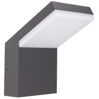 American Lighting SCO-BURG-GT Burg LED Graphite Sconce Wall Light, FrameWrx