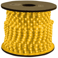 American Lighting ULRL-LED-AM-150 Flexbrite Amber 1800 inch Rope Light Reel