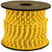 American Lighting ULRL-LED-AM-150 LED Rope Light Bulk Reel Collection Amber 1800 inch Rope Light