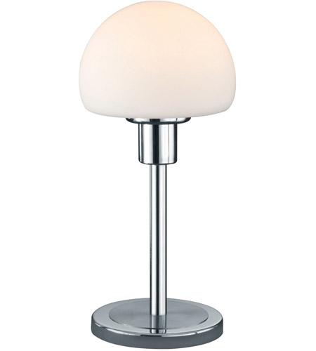 Arnsberg 529210107 Wilhelm 12 Inch 4 5 Watt Nickel Matte Table
