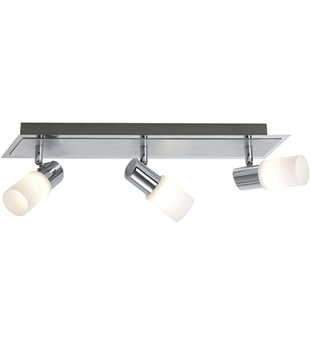 Brushed Aluminum Glass Dallas Spot Lights