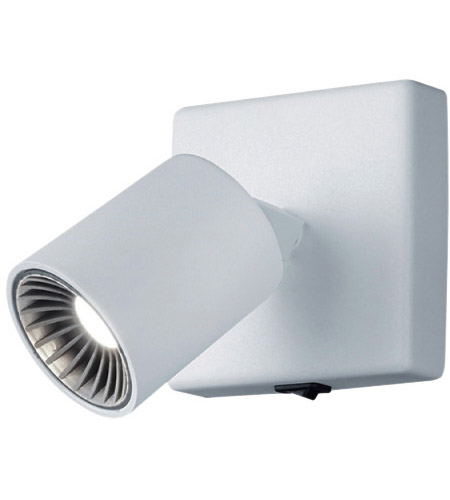 Arnsberg 829270101 Cayman 1 Light 4 inch White Wall Sconce Wall Light photo