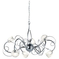 Arnsberg 113110606 Caprice 6 Light 26 inch Chrome Chandelier Ceiling Light photo thumbnail