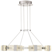 Krone 1 Light 84 inch Chrome Chandelier Ceiling Light