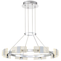 Arnsberg 122310806 Krone 1 Light 12 inch Chrome Chandelier Ceiling Light photo thumbnail