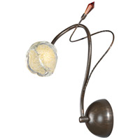 Caprice 1 Light 5 inch Bronze Wall Sconce Wall Light