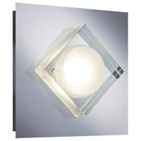 Arnsberg 223770106 Brooklyn 1 Light 7 inch Chrome Wall Sconce Wall Light