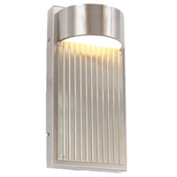 Arnsberg 226260707 Las Cruces 1 Light 9 inch Satin Nickel Outdoor Wall Sconce