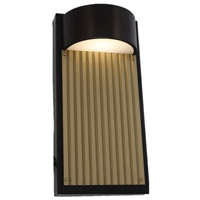 Arnsberg 226260928 Las Cruces 1 Light 12 inch Bronze Outdoor Wall Sconce