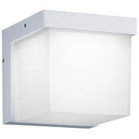 Yangtze 1 Light 5 inch White Outdoor Wall Light