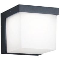 Arnsberg 228260142 Yangtze 1 Light 5 inch Dark Grey Outdoor Wall Light