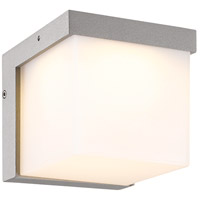 Yangtze 1 Light 5 inch Titanium and Light Grey Outdoor Wall Light