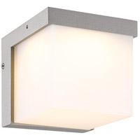 Arnsberg 228260187 Yangtze 1 Light 5 inch Titanium and Light Grey Outdoor Wall Light