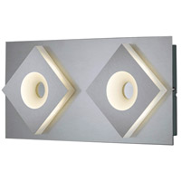 Atlanta 2 Light 16 inch Nickel-Matte Wall Sconce Wall Light
