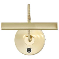 Arnsberg 279770108 Curtis 4.5 watt 7 inch Brass-Matte Picture Light Wall Light