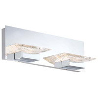 Arnsberg 282510206 H2o 2 Light 16 inch Chrome Bath Vanity Wall Light