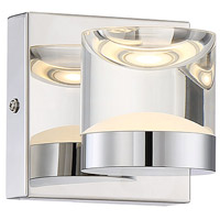 Arnsberg 282710106 H2o 1 Light 7 inch Chrome Bath Vanity Wall Light