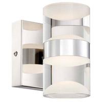 Arnsberg 282710206 H2o 2 Light 10 inch Chrome Bath Vanity Wall Light