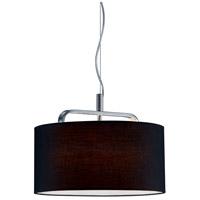 Arnsberg 300100106 Cannes 1 Light 16 inch Chrome Pendant Ceiling Light
