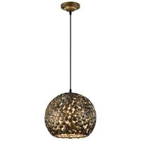 Arnsberg 302200104 Frieda 1 Light 13 inch Antique Brass Pendant Ceiling Light