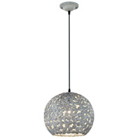 Frieda 1 Light 13 inch Antique Grey Pendant Ceiling Light