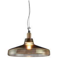 Arnsberg 304900100 Dover 1 Light 16 inch Transparent Pendant Ceiling Light