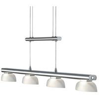 Arnsberg 324390407 Senator 4 Light 36 inch Nickel-Matte Linear Pendant Ceiling Light