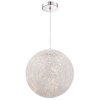 Arnsberg 325114005 Thunder 1 Light 16 inch Aluminum Pendant Ceiling Light alternative photo thumbnail