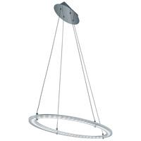 Arnsberg 379412705 Toronto 1 Light 32 inch Brushed Aluminum Pendant Ceiling Light