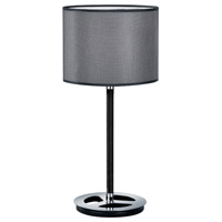 Arnsberg 503400106 Stratos 20 inch 100 watt Chrome Table Lamp Portable Light