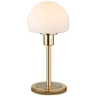 Wilhelm 12 inch 4.5 watt Brass-Matte Table Lamp Portable Light