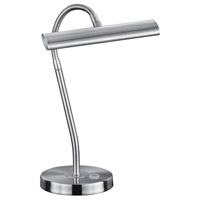 Curtis 14 inch 4.5 watt Nickel-Matte Desk Lamp Portable Light