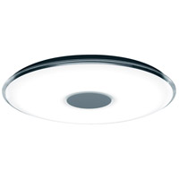 Arnsberg 628915001 Tokyo 1 Light 24 inch White Flush Mount Ceiling Light with Remote Control