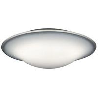 Arnsberg 656712001 Milano 1 Light 14 inch White Flush Mount Ceiling Light