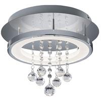 Arnsberg 657211206 Dorian 1 Light 14 inch Chrome Flush Mount Ceiling Light