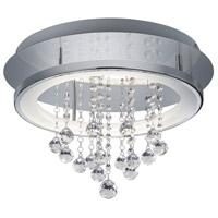 Arnsberg 657211806 Dorian 1 Light 18 inch Chrome Flush Mount Ceiling Light