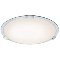 Arnsberg 658715801 Yokohama 1 Light 30 inch White Flush Mount Ceiling Light with Remote Control
