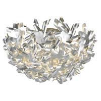 Arnsberg 661300505 Pinwheel 5 Light 25 inch Aluminum Flush Mount Ceiling Light