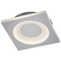 Arnsberg 675410107 Atlanta 1 Light 12 inch Nickel-Matte Flush Mount Ceiling Light