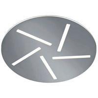 Arnsberg 676810507 Modena 5 Light 16 inch Nickel-Matte Flush Mount Ceiling Light