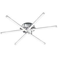 Arnsberg 677610606 Sandro 6 Light 36 inch Chrome Flush Mount Ceiling Light