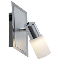 Dallas 1 Light 3 inch Brushed Aluminum Wall Sconce Wall Light