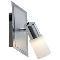 Arnsberg 821470105 Dallas 1 Light 3 inch Brushed Aluminum Wall Sconce Wall Light