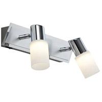 Arnsberg 821470205 Dallas 2 Light 3 inch Brushed Aluminum Wall Sconce Wall Light