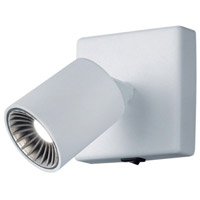 Arnsberg 829270101 Cayman 1 Light 4 inch White Wall Sconce Wall Light photo thumbnail